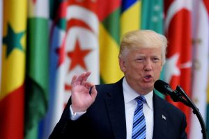 Trump calls for travel ban from 'certain dangerous countries'
