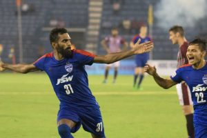 CK Vineeth shines as Bengaluru FC beat Mohun Bagan to win Federation Cup