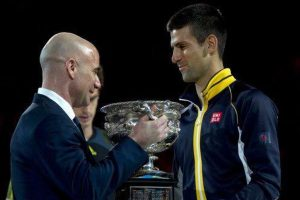 Andre Agassi to coach Novak Djokovic at French Open