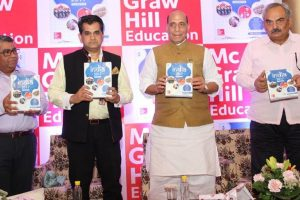 Rajnath launches India 2017 Yearbook