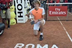Alexander Zverev sole German hope at French Open