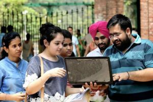Over 40,000 register online for DU admissions