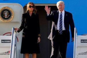 Trump reaches Rome to meet Italy, Vatican leaders
