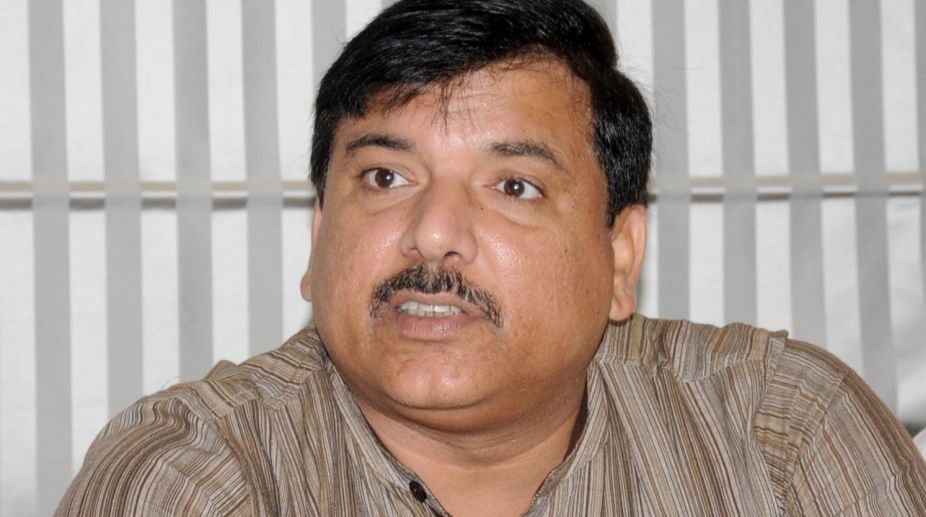 Sanjay Singh one of three AAP RS candidates