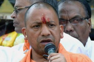 Mandir-Masjid dispute to be solved  through dialogue: Adityanath