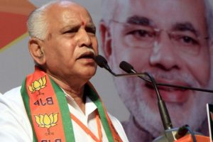 Karnataka Assembly elections 2018: BJP's CM face Yeddyurappa files nomination