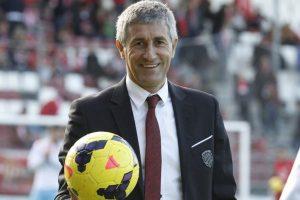 Quique Setien bound for Real Betis coaching role