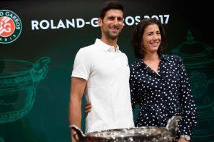 Novak Djokovic, Garbine Muguruza to defend French Open titles