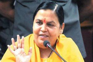 Babri demolition case: Congress demands resignation of Uma Bharti