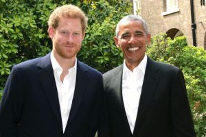 Prince Harry hosts Obama at Kensington Palace