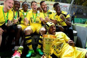 Dortmund beat Frankfurt to clinch their fourth German Cup title