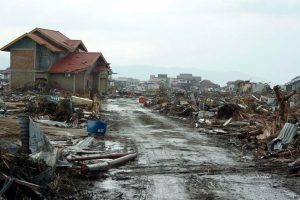 Himalayan hand in December 2004 tsunami