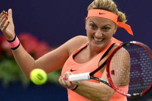 Petra Kvitova in French Open second round