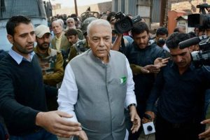 Yashwant Sinha led team meets Governor