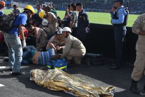 Stampede at stadium kills 4 fans, unborn foetus in Honduras