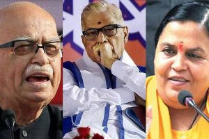 Babri case: Advani, Joshi, Bharti exempted from personal appearance