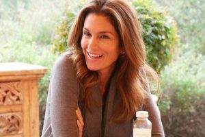 Cindy Crawford pays tribute to her son