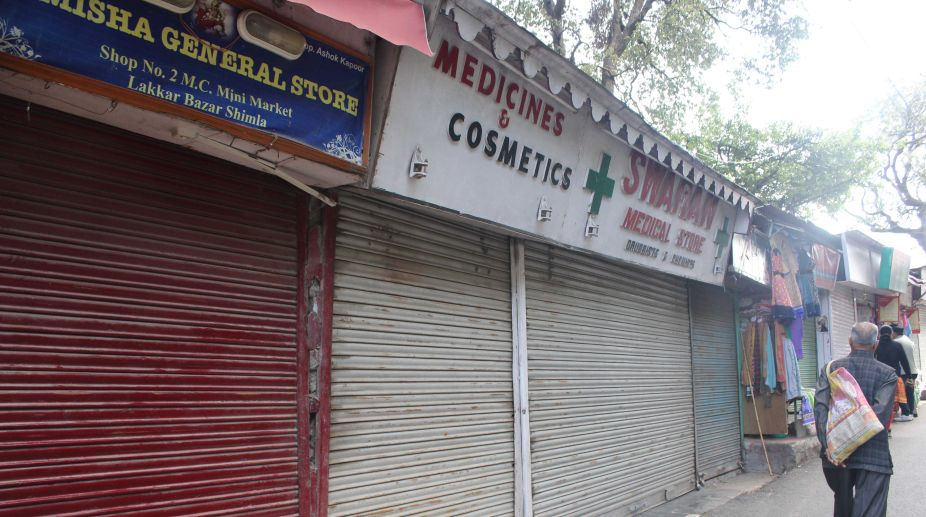 Illegal shops, PWD, traffic congestion