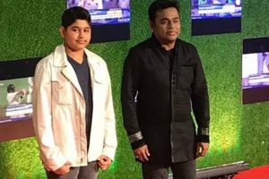 AR Rahman's son makes Hindi singing debut with Sachin biopic