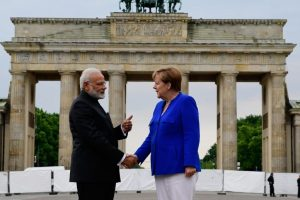 Modi makes congratulatory call to Merkel