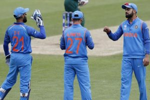 India embarrass Bangladesh by 240 runs in 2nd warm-up tie