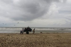 Indian Naval ship rescues 18 in cyclone-hit Bangladesh