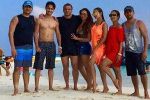 Post divorce, Malaika Arora joins Salman Khan's party with Arbaaz Khan