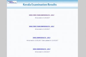 Kerala DHSE Class 11 result 2017 declared on keralaresults.nic.in
