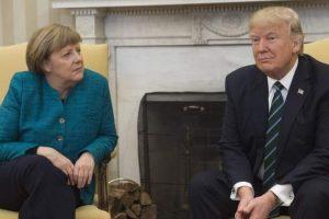 German envoy to US downplays Trump-Merkel tensions