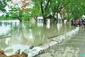 Two Manipur villages hit as dam spillway collapses