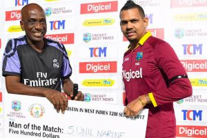 Sunil Narine shines in West Indies six wicket win over Afghanistan