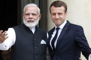 India and France will take Paris accord forward, declare Modi, Macron