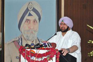 Gill shone as a beacon during dark days of militancy in Punjab: Capt Amarinder
