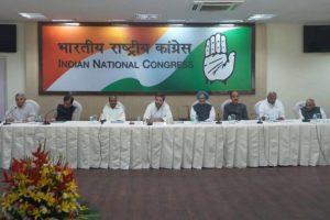 Congress Working Committee to meet on June 6