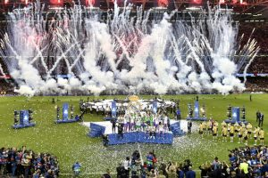 Over 400 injured in stampede during Champions League final