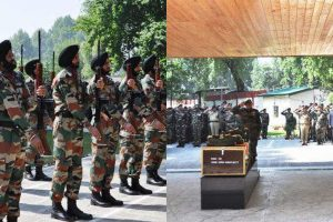 Tributes paid to two soldiers killed in J-K attack