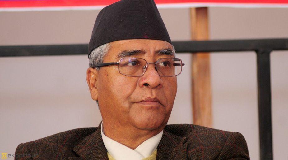Nepali PM Sher Bahadur Deuba (PHOTO: Twitter)