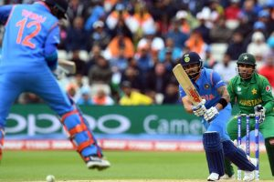 Champions Trophy: India in driver's  seat, set 320-run target for Pakistan