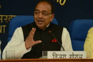 Football academy to be set up at Sairang: Vijay Goel