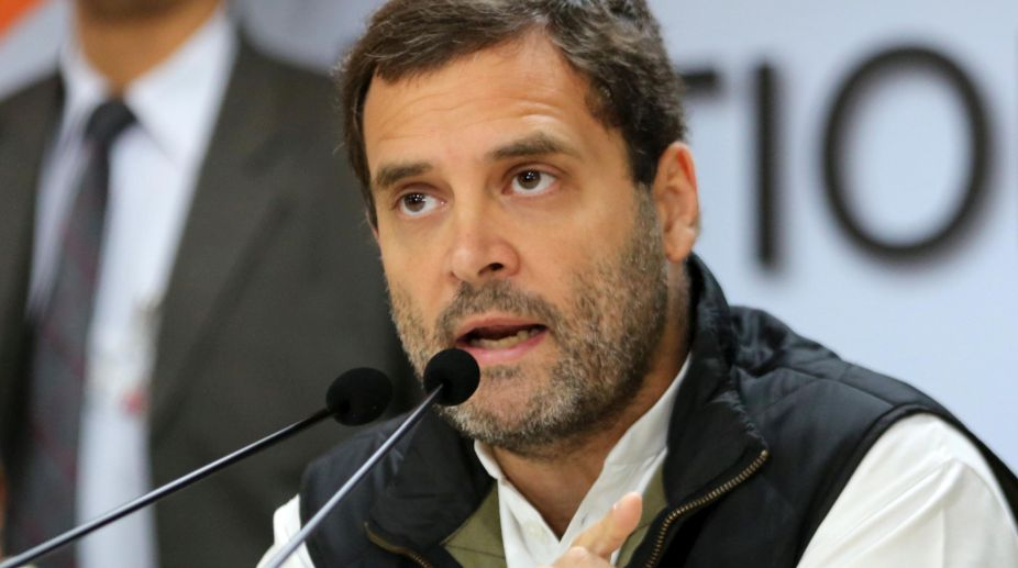 Rahul Gandhi congratulates ISRO for creating history