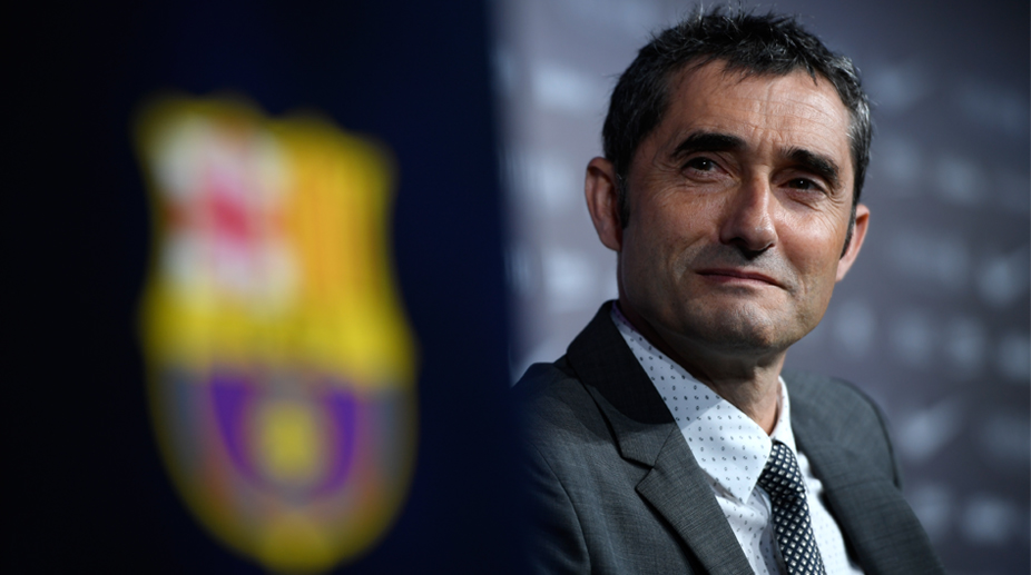 Barcelona coach Ernesto Valverde (Photo: AFP)