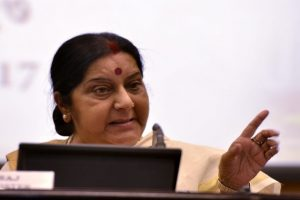 'Even if you are stuck on Mars, Indian embassy will help you', Sushma on Twitter