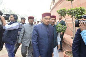 Start recruiting Himachalis in paramilitary forces: Dhumal to Rajnath Singh