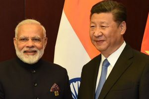 PM Modi meets Xi Jinping in Astana