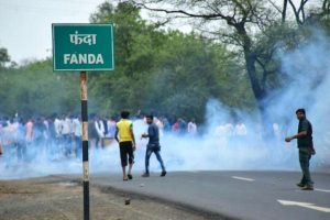 Farmer unrest: Arson, stone-pelting in area near Bhopal