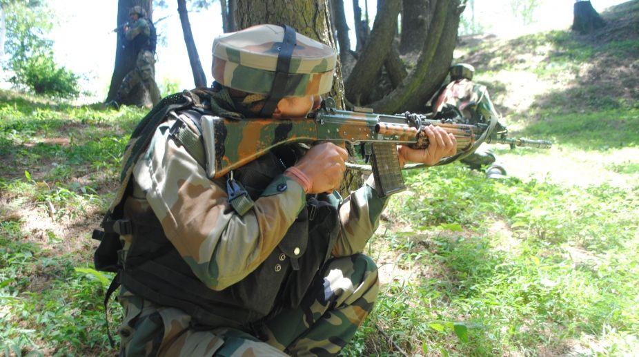soldier, killed, LoC, border, firing