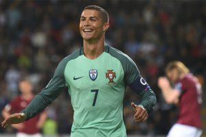 Red-hot Cristiano Ronaldo fires Portugal past Latvia