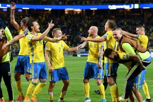 Olivier Giroud's wonder-strike in vain as Sweden upset France