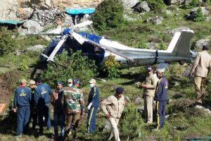 Engineer killed, 8 injured in Uttarakhand helicopter crash