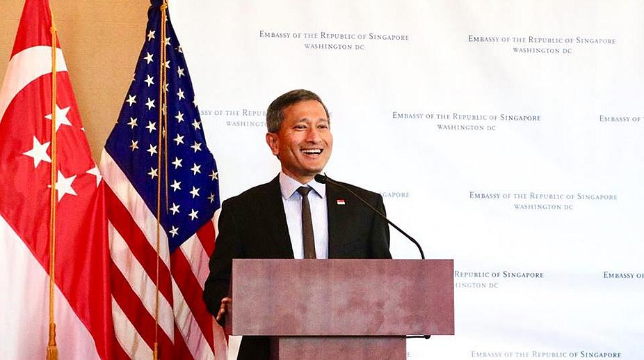 Vivian Balakrishnan, maritime links, Singapore-India ties, Asean, North East Skills Centre